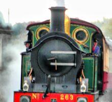 Engine 263 steaming Sticker