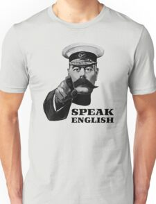 Lord Kitchener Speak English Unisex T-Shirt