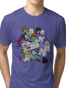 undertale XX Tri-blend T-Shirt