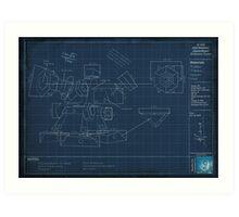 Heimerdinger's Turret Blueprints Art Print
