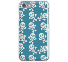 Pirate skull and bones iPhone Case/Skin