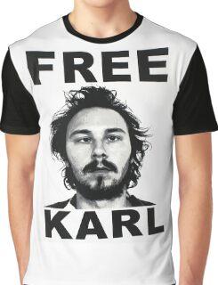 Free Karl - Workaholics Graphic T-Shirt