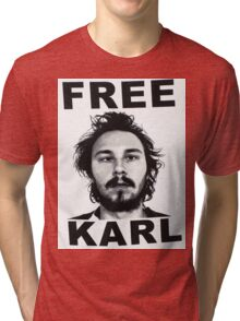 Free Karl - Workaholics Tri-blend T-Shirt