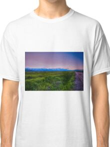 Grand Teton National Park Sunset Classic T-Shirt