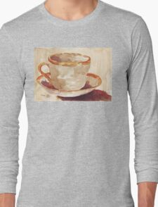 Be a coffee-drinking individual - Espresso yourself! Long Sleeve T-Shirt