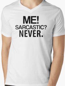 Me sarcastic Mens V-Neck T-Shirt