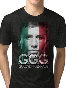 Golovkin Support Tri-blend T-Shirt