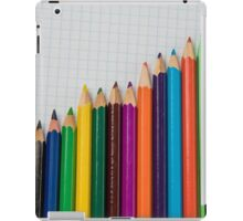 colored pencils closeup  iPad Case/Skin
