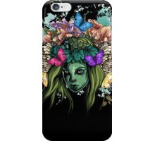 Vector girl iPhone Case/Skin