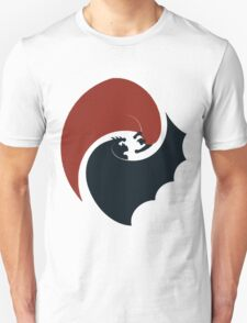 batman vs superman yin yang logo Unisex T-Shirt