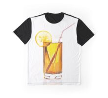 Glass of lemonade or lemon juice Graphic T-Shirt