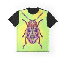 Beetle in Green Graphic T-Shirt