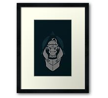 Alphonse Elric In The Dark Framed Print