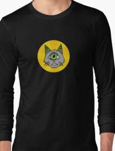 Illuminati Cyclops Money Cat, alone! Long Sleeve T-Shirt
