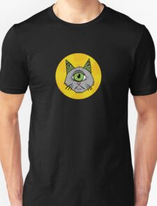 Illuminati Cyclops Money Cat, alone! Unisex T-Shirt