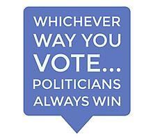 Vote Photographic Print