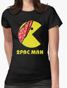 PAC MAN 2PAC Womens Fitted T-Shirt