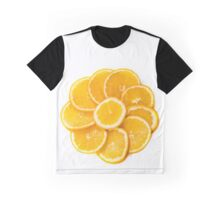 sliced oranges on a plate  Graphic T-Shirt