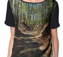 Hallerbos - The Blue Forest - 4 Chiffon Top