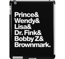 Prince & The Revolution 1984 Purple Rain Band iPad Case/Skin