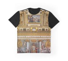 Sala della Biblioteca at Castel Sant'Angelo, Rome Italy Graphic T-Shirt