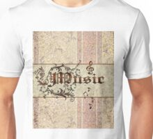 Music the word Unisex T-Shirt
