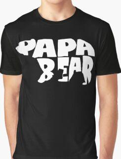 Papa Bear Graphic T-Shirt