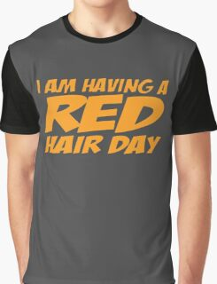 RED GINGER HAIR DAY Graphic T-Shirt