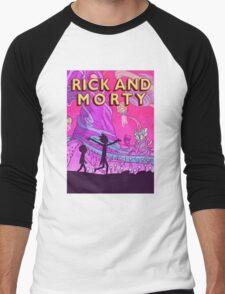 Rick and Morty Adventure Men's Baseball ¾ T-Shirt