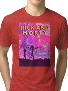 Rick and Morty Adventure Tri-blend T-Shirt