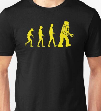 Robotic Evoluation Unisex T-Shirt