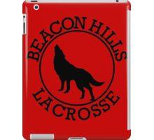beacon hills lacrose teen wolf iPad Case/Skin