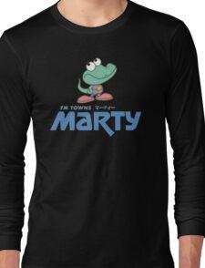 FM Towns Marty Logo Long Sleeve T-Shirt
