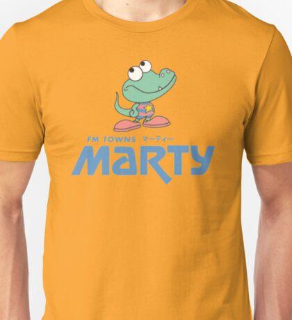 FM Towns Marty Logo Unisex T-Shirt