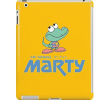 FM Towns Marty Logo iPad Case/Skin