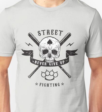 Street fighting emblem Unisex T-Shirt