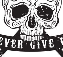 Street fighting emblem Sticker