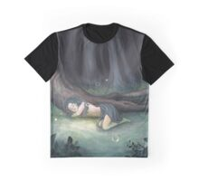 Sleeping in the Woods Graphic T-Shirt
