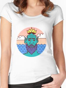 Water God Women's Fitted Scoop T-Shirt