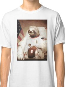 Spaceman Sloth Astronaut Classic T-Shirt