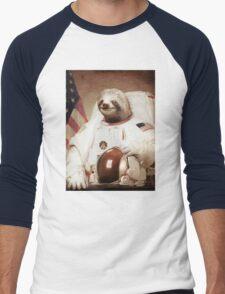 Spaceman Sloth Astronaut Men's Baseball ¾ T-Shirt