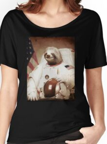Spaceman Sloth Astronaut Women's Relaxed Fit T-Shirt