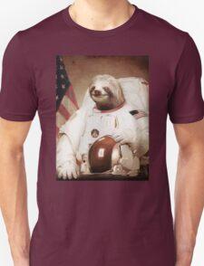 Spaceman Sloth Astronaut Unisex T-Shirt