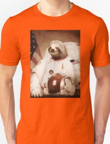 Spaceman Sloth Astronaut T-Shirt