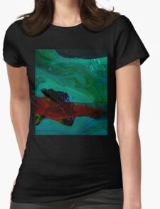 2016_GITCHADK_MALERI_PRINT_1_29 Womens Fitted T-Shirt