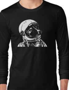 Space Dog Laika Long Sleeve T-Shirt