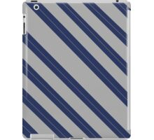 Simple ravenclaw design - stripes iPad Case/Skin