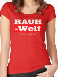 RAUH-WELT BEGRIFF : CANADA Women's Fitted Scoop T-Shirt