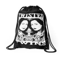 Soska-Noir Drawstring Bag