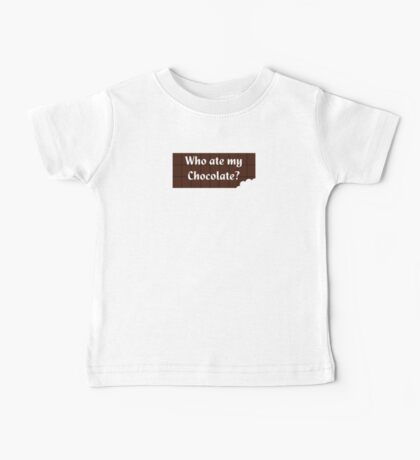 Who Ate My Chocolate iPhone Case - Galaxy Phone Cover Baby Tee